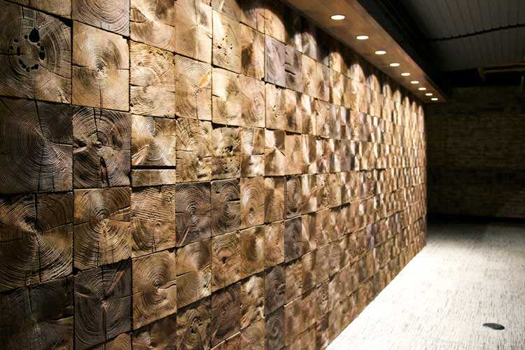 Beam Block Reclaimed End Grain Wall Timbers Anthology