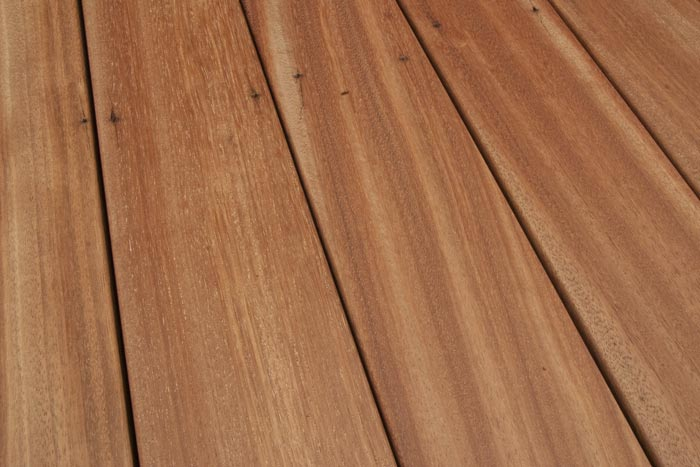 Reclaimed  Dinizia  Tropical Hardwood Decking