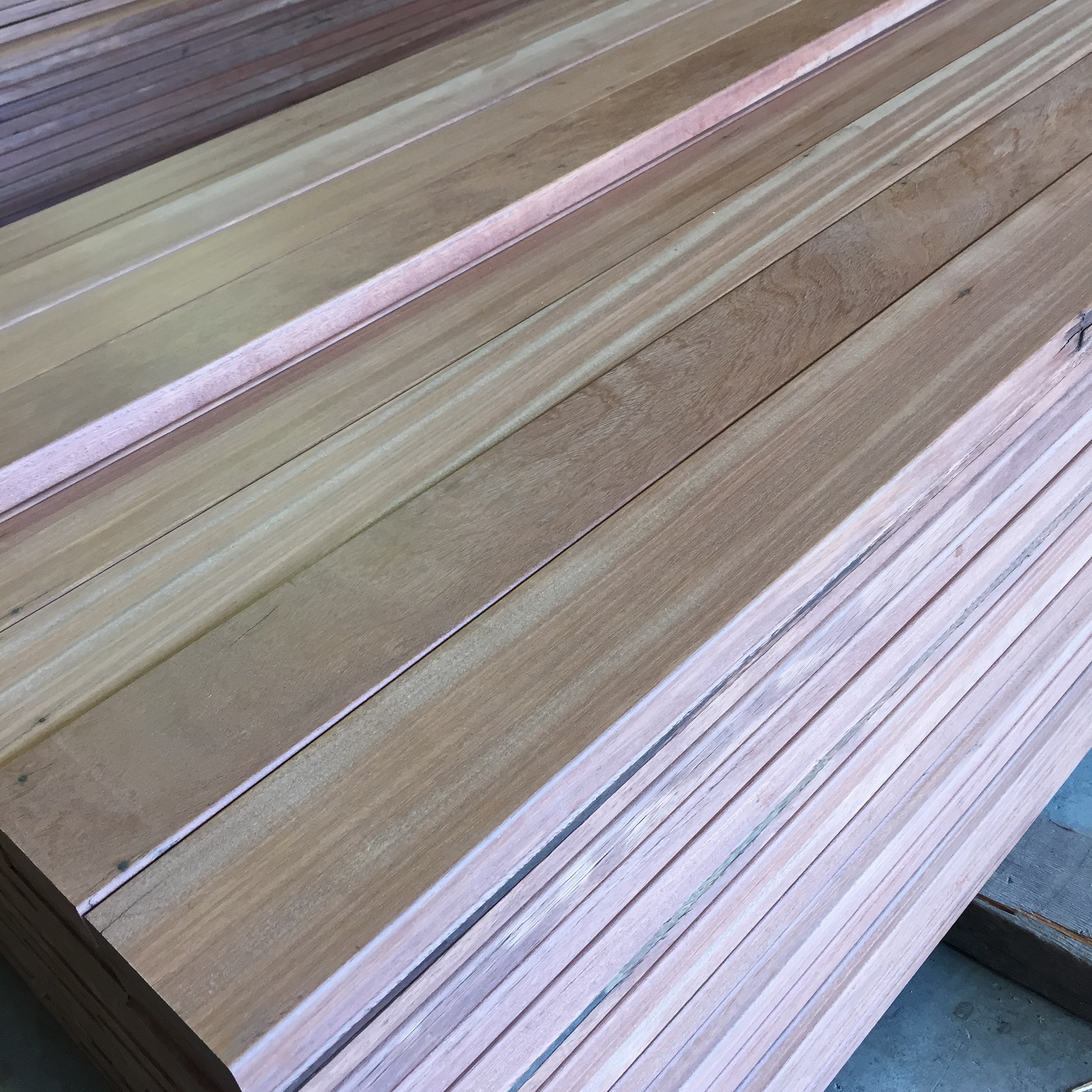 Dinizia Decking ready to ship