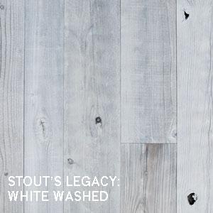 WHITE WASHED RECLAIMED WOOD PANELING