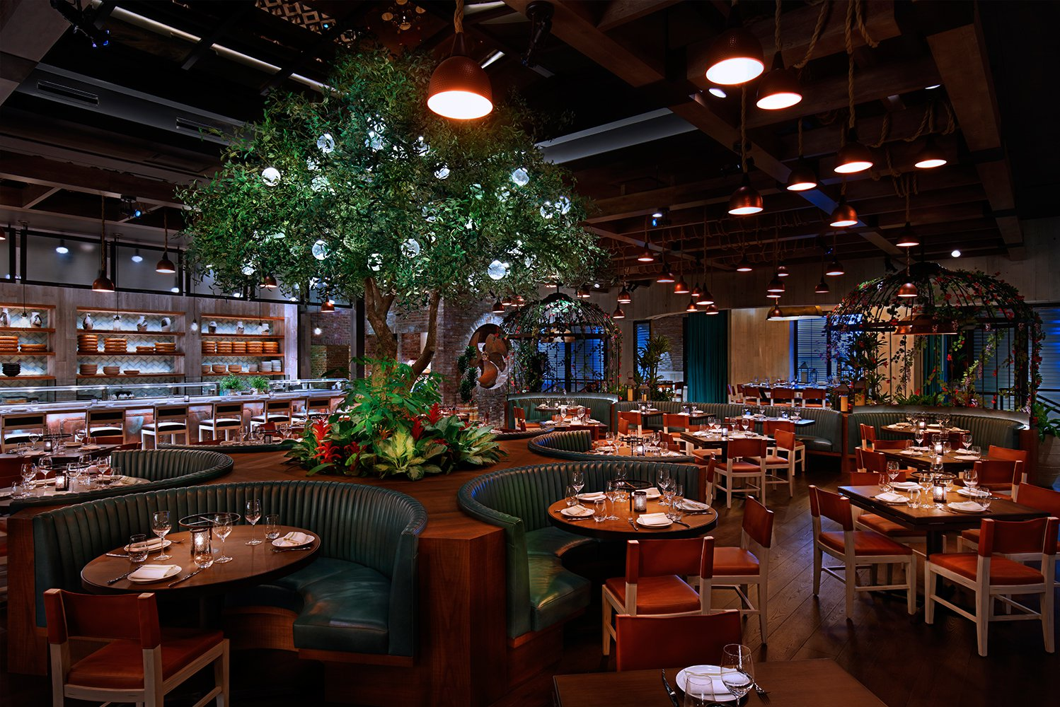 Main dining area of CATCH