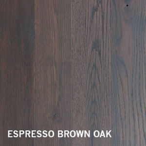 ESPRESSO BROWN FINISH