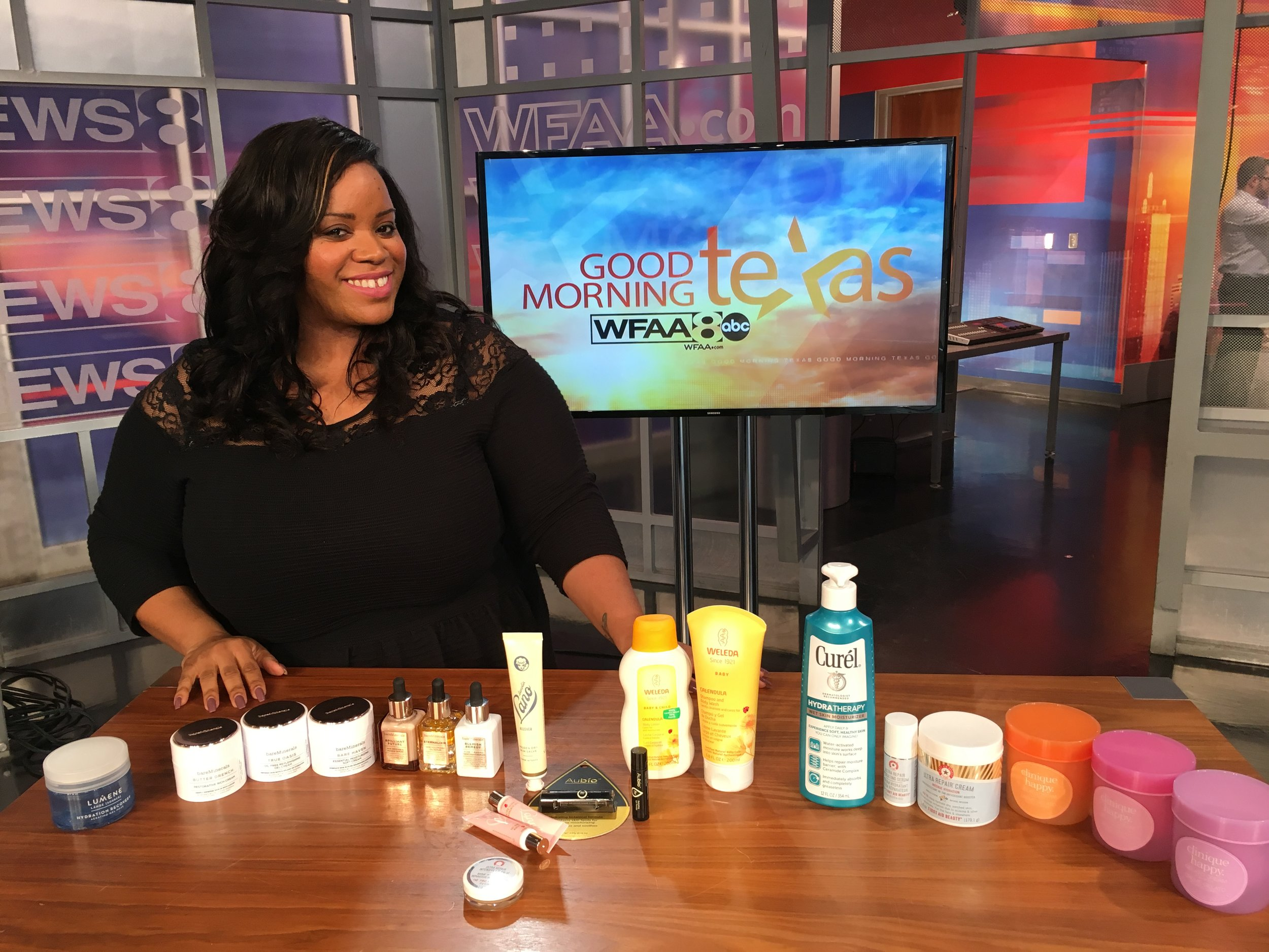 Join me on my latest 'Good Morning Texas' segment as I discuss the latest in beauty and skincare to keep your skin moisturized and hydrated during the Winter months. Click  here  for the segment