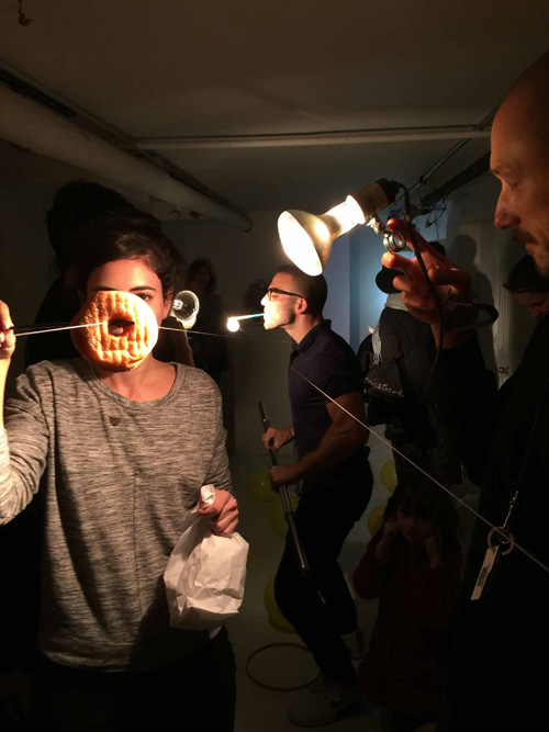 """Jacob Robichaux in performance as part of """"Total Styrene: True Believer"""" Photo credit: Olympia Shannon"""