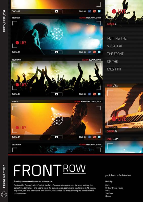 FrontRow - Sydney Opera House 2012