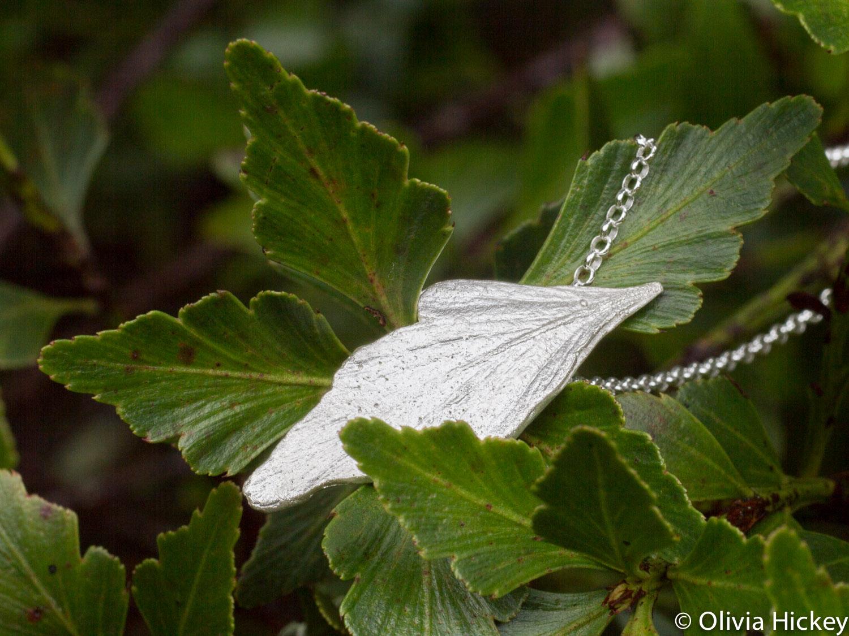 Celery Top Pine Sterling Silver Pendant