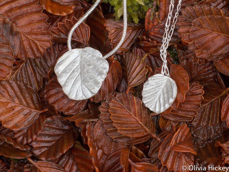 Fagus Sterling Silver Pendant