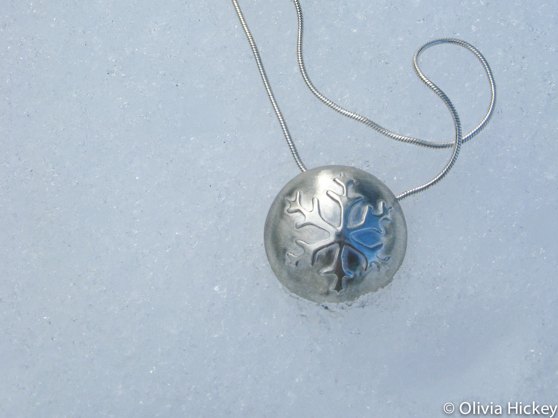 Snowflake Sterling Silver pendant