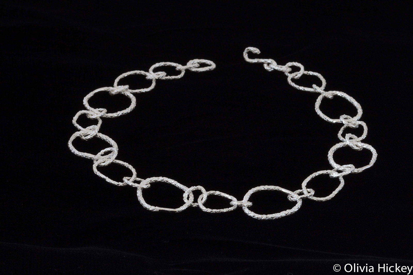 Sterling silver Pencil Pine Chain
