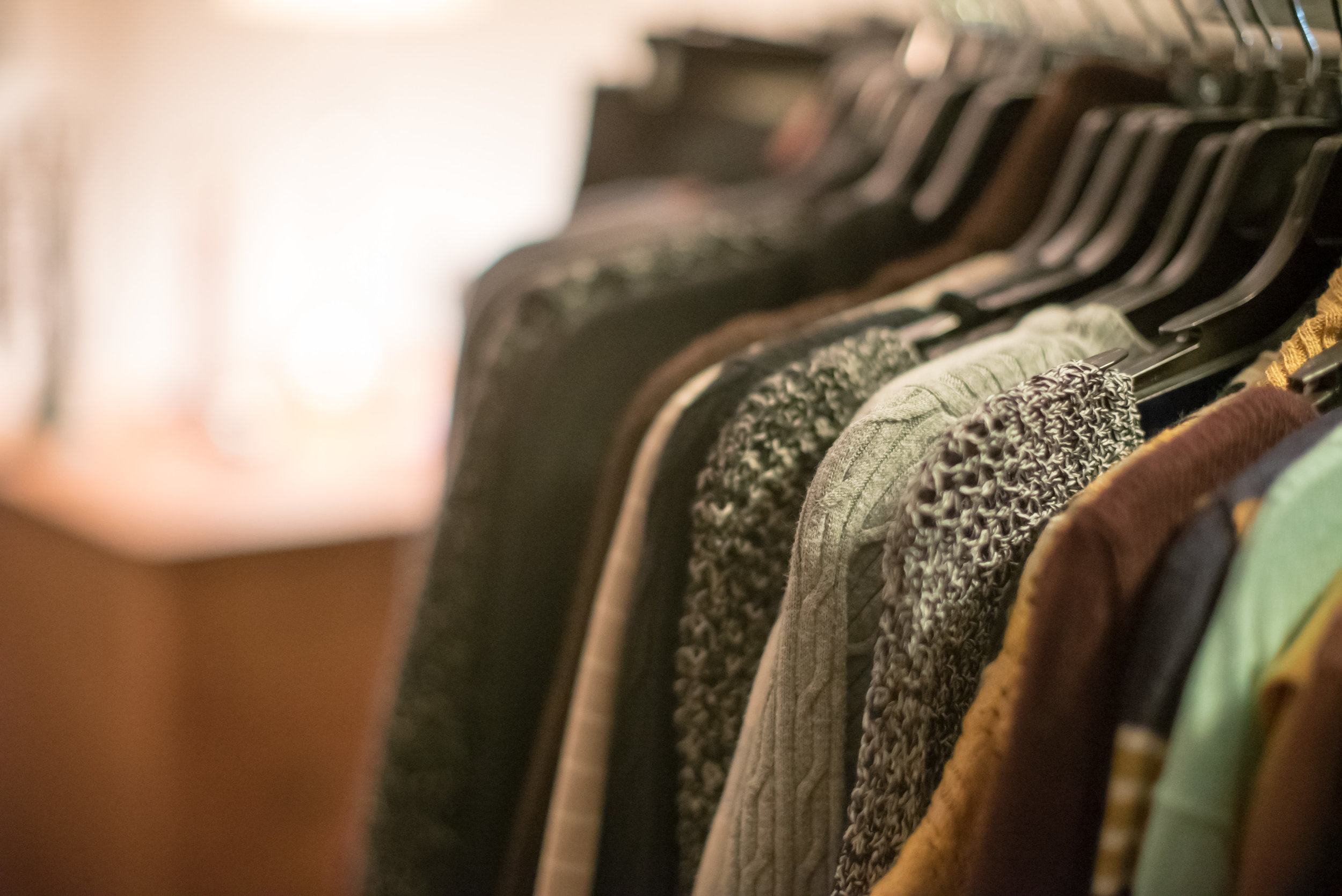 Our Resource Center provides clothing free of charge