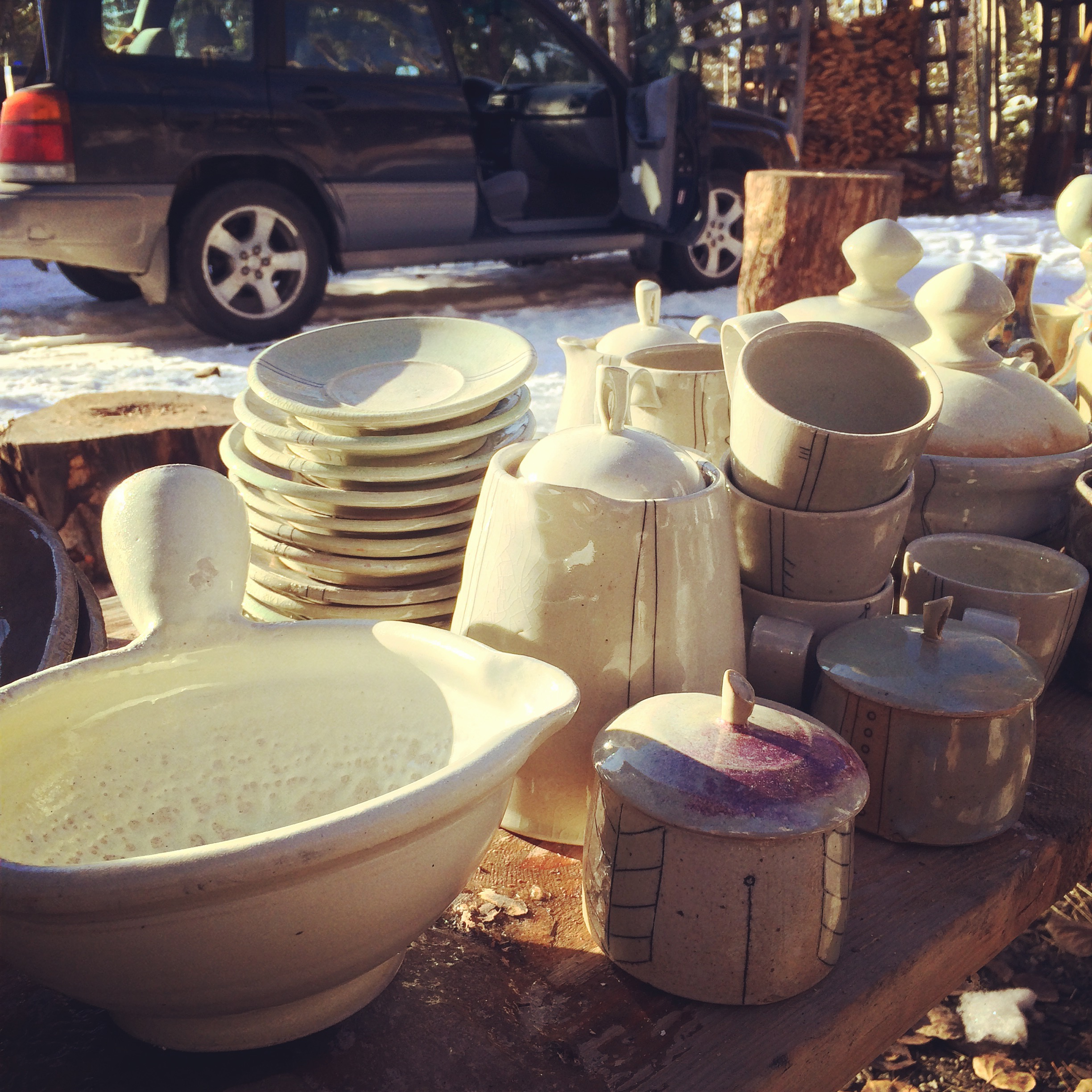 It was a very Merry Christmas! Lots of great pots from this firing!