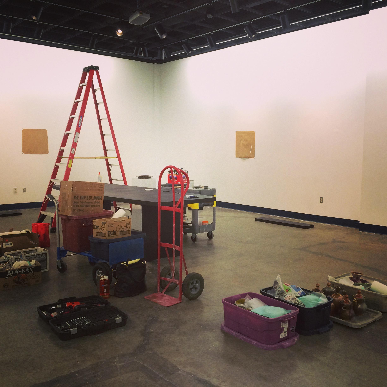 gallery set up