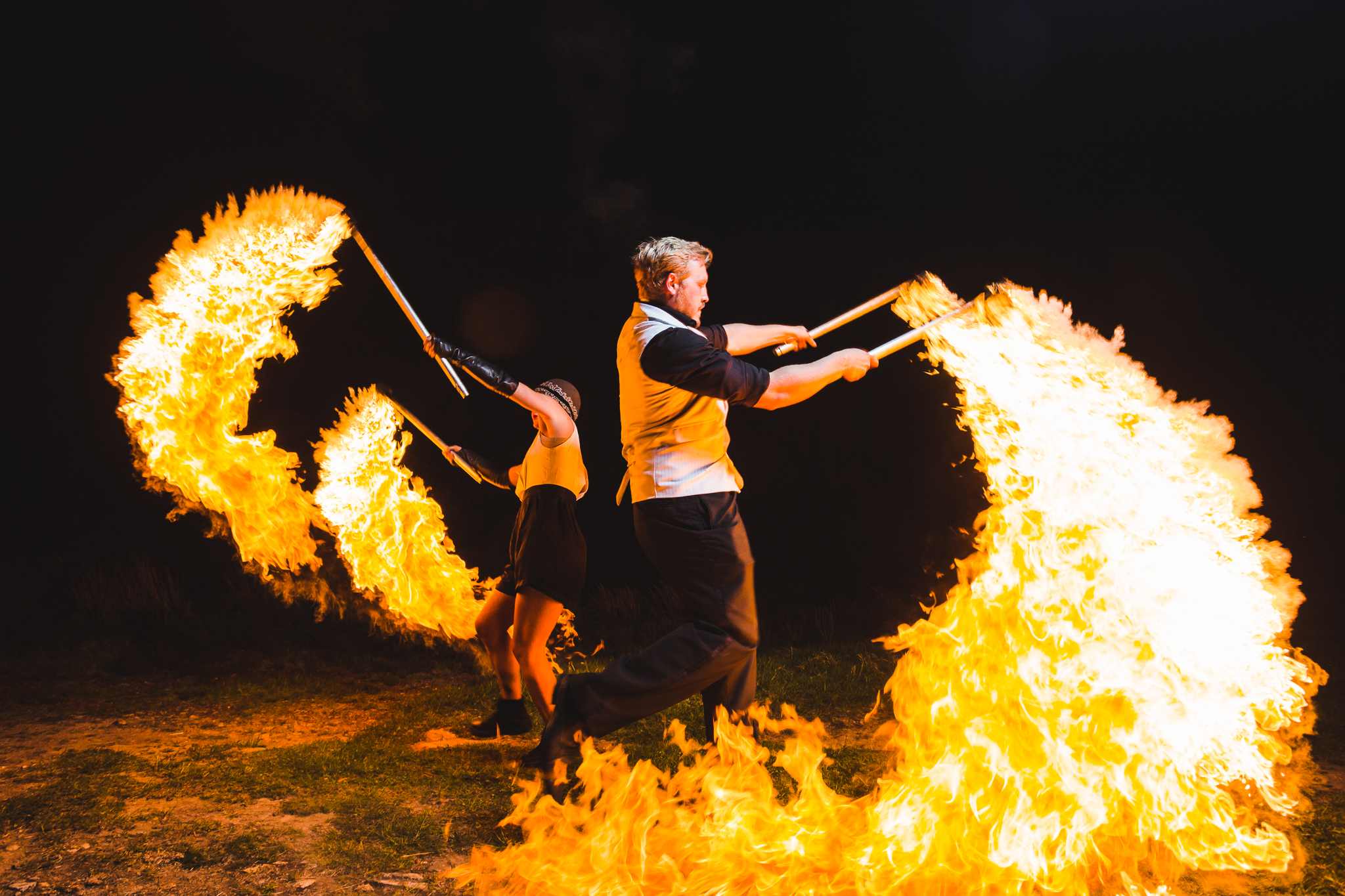 fire performers uk