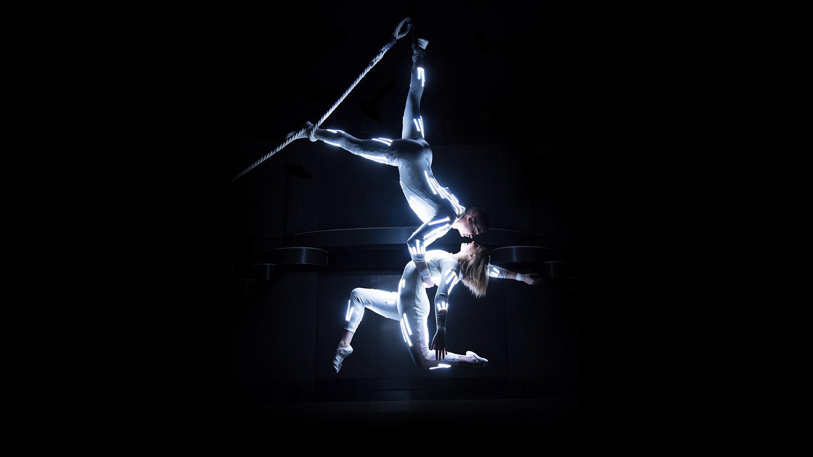 LED Aerial dancers
