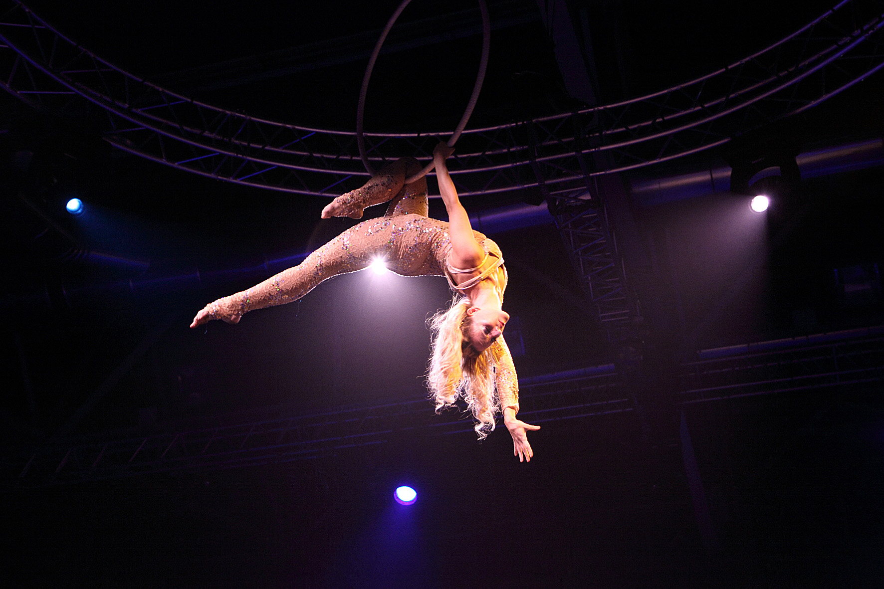 aerial circus acts for hire