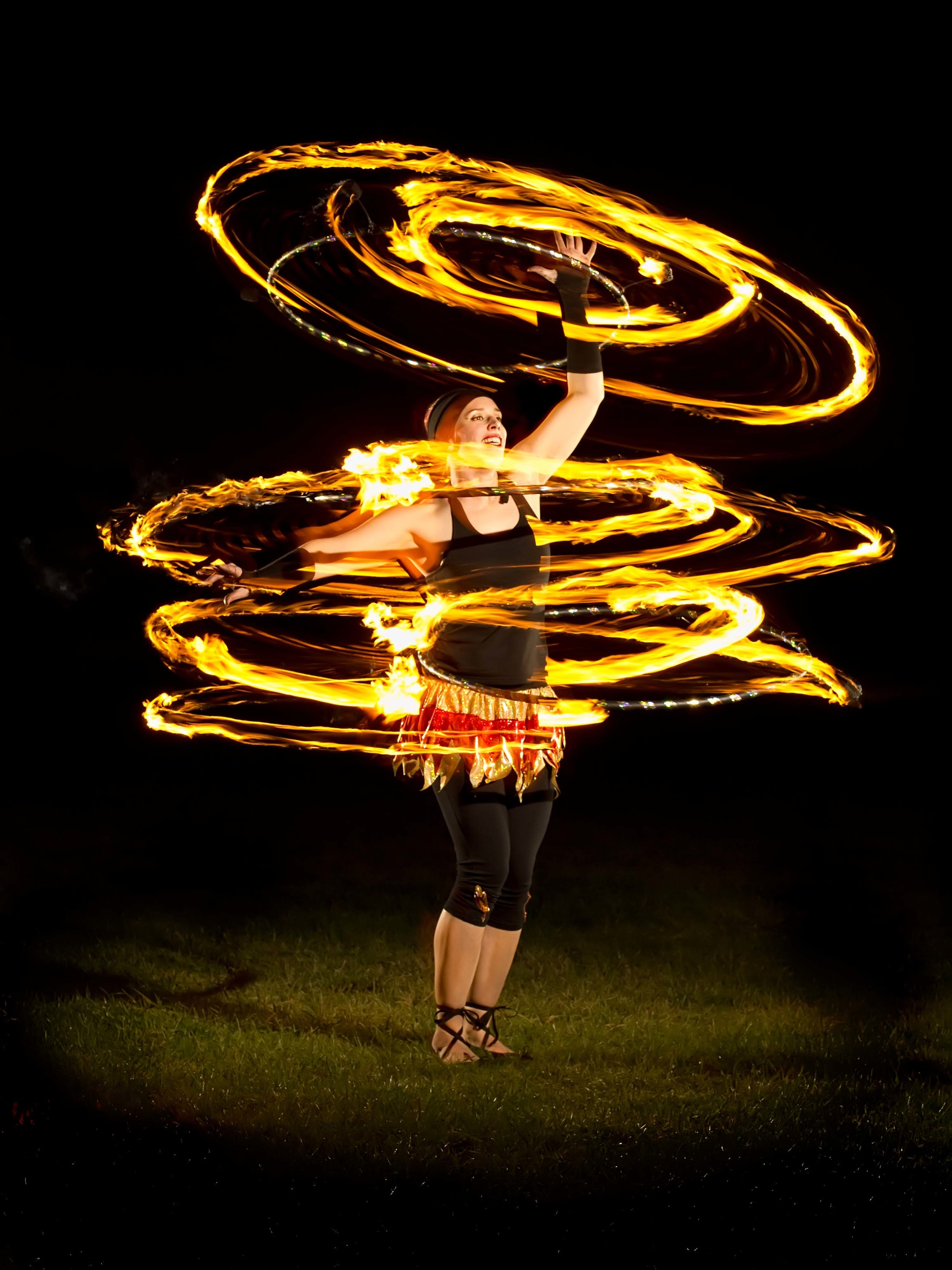 collect fire show