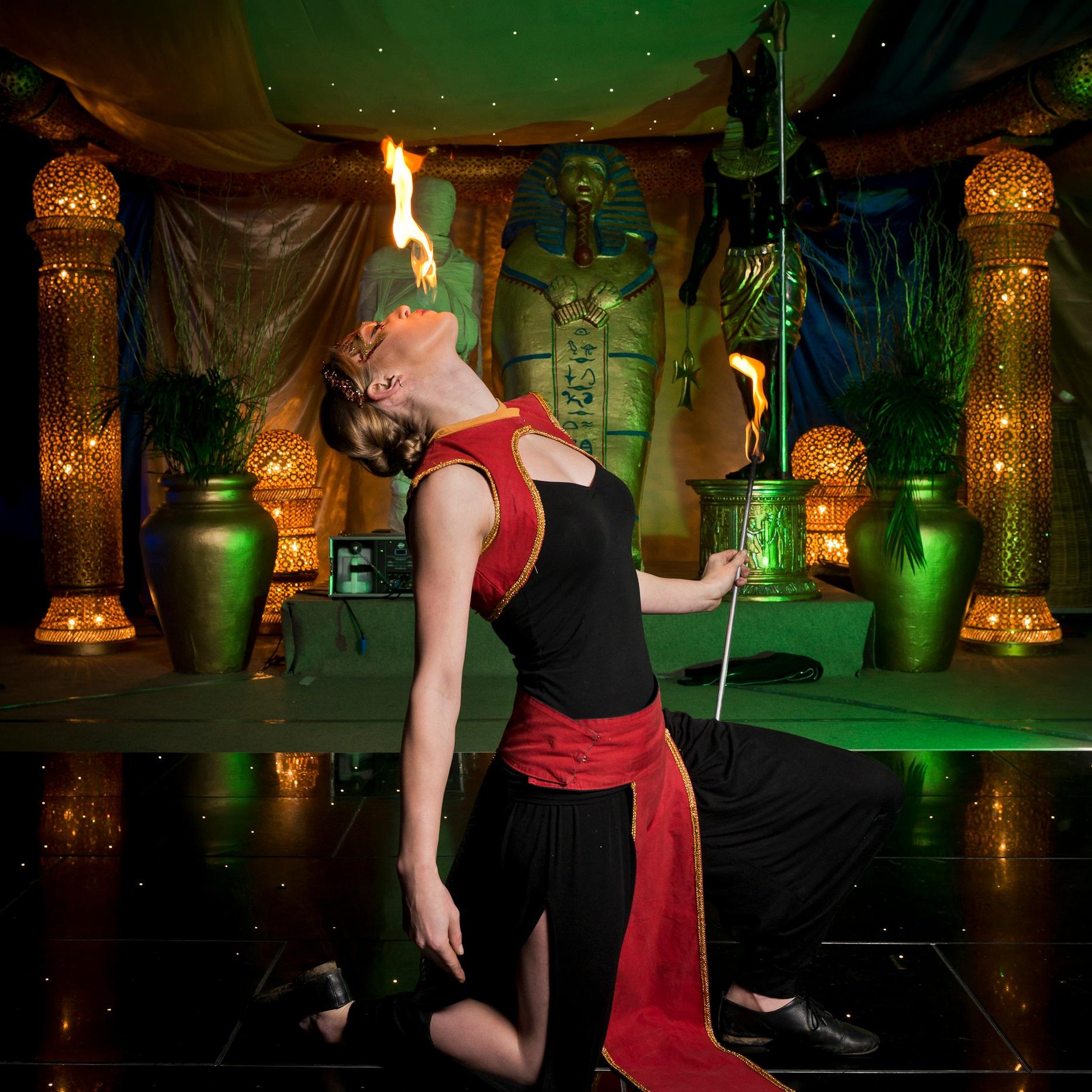 Arabian flames