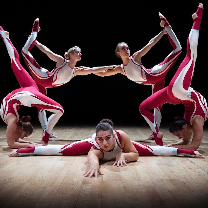 all girl acrobats