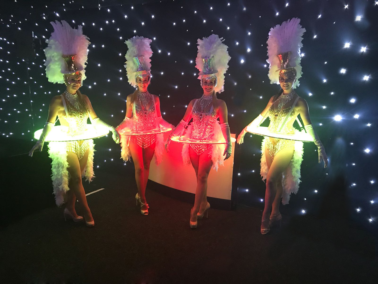 LED Roaming Tables - Showgirl Gold and Silver 3.JPG