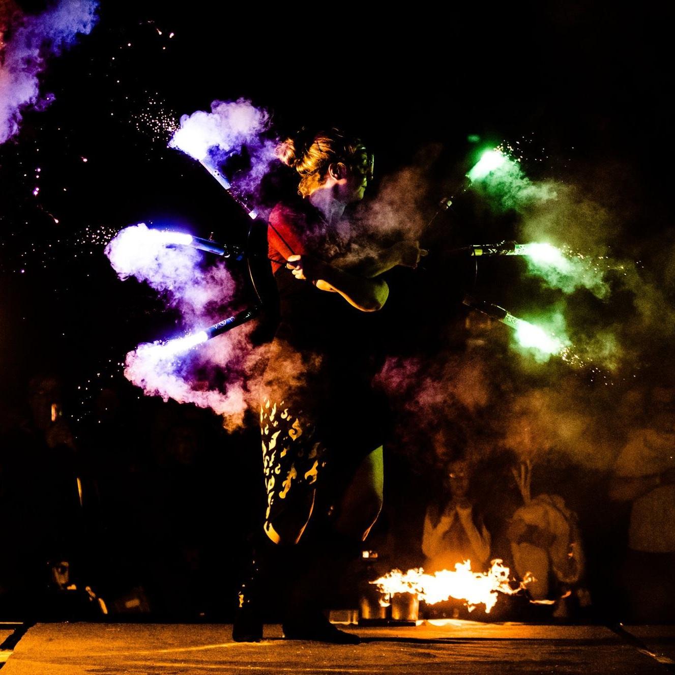 blaze fire show