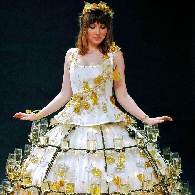 champagne skirts