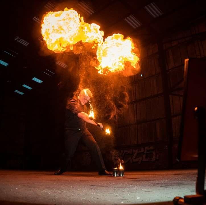 maurice fire show