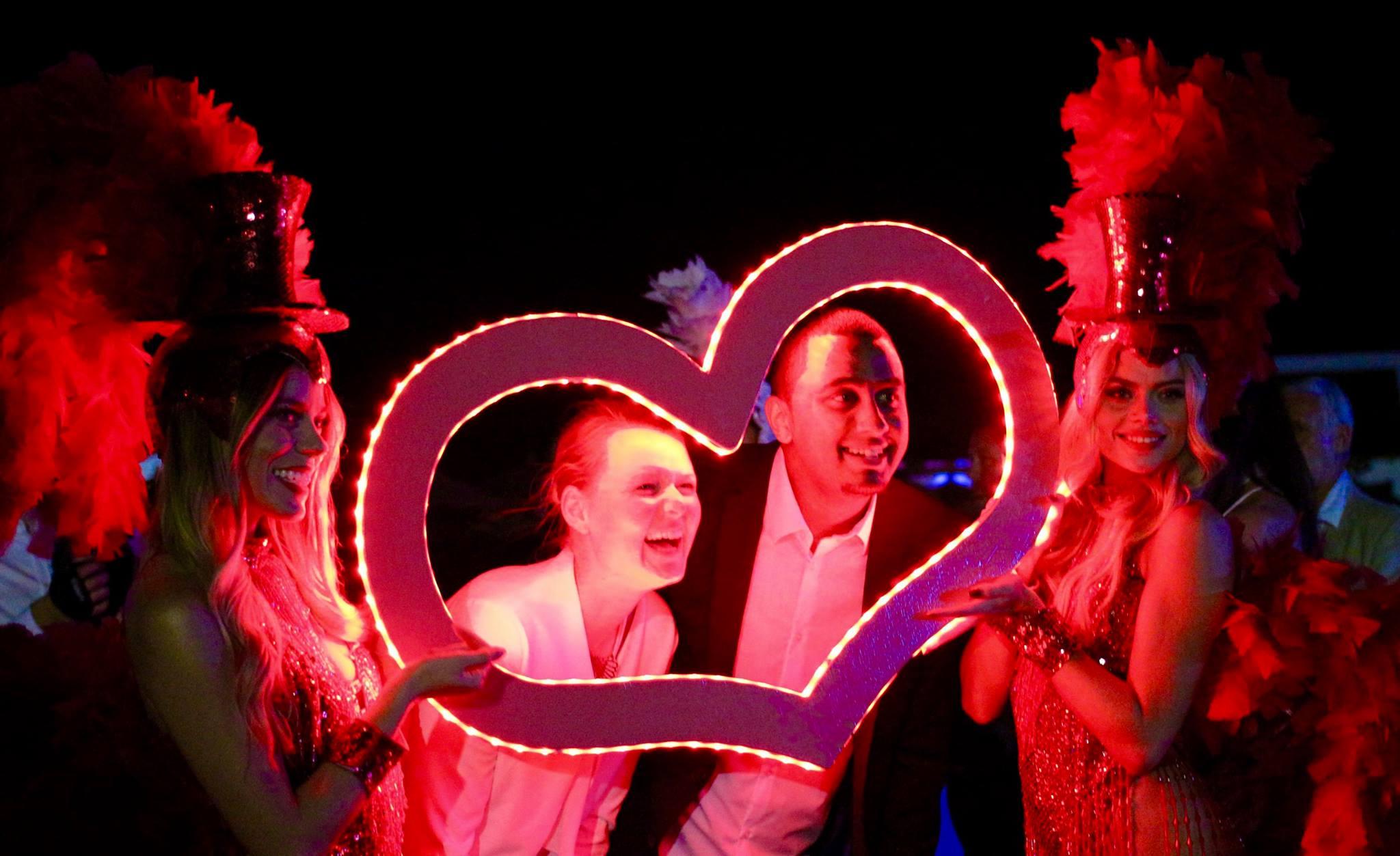 Cape Verde - Red Showgirls - LED Heart Photo Frame Heart - 1.jpg