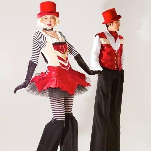 Unique stilt walkers for any event.