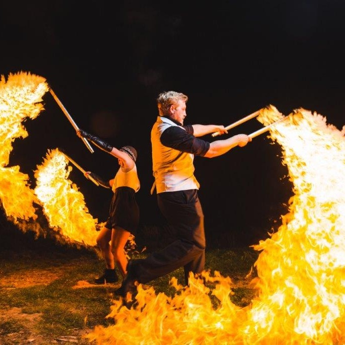 Fire performers for hire!