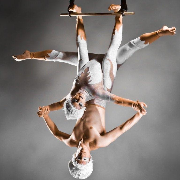 aerial dancers