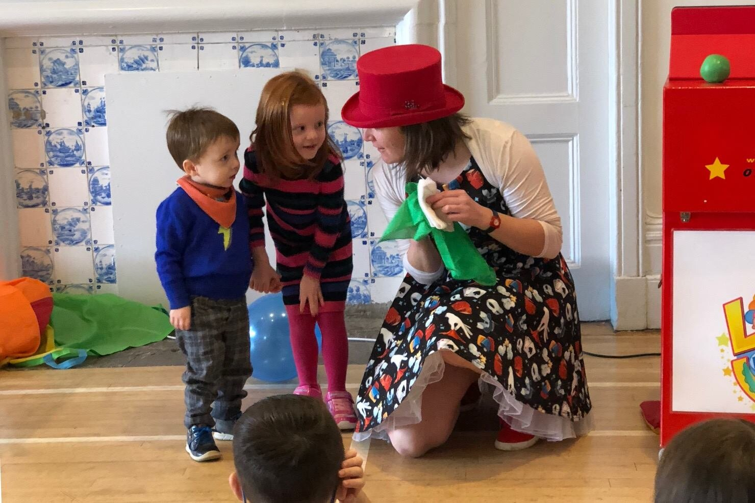 Circus Uncertainty Children's Entertainer