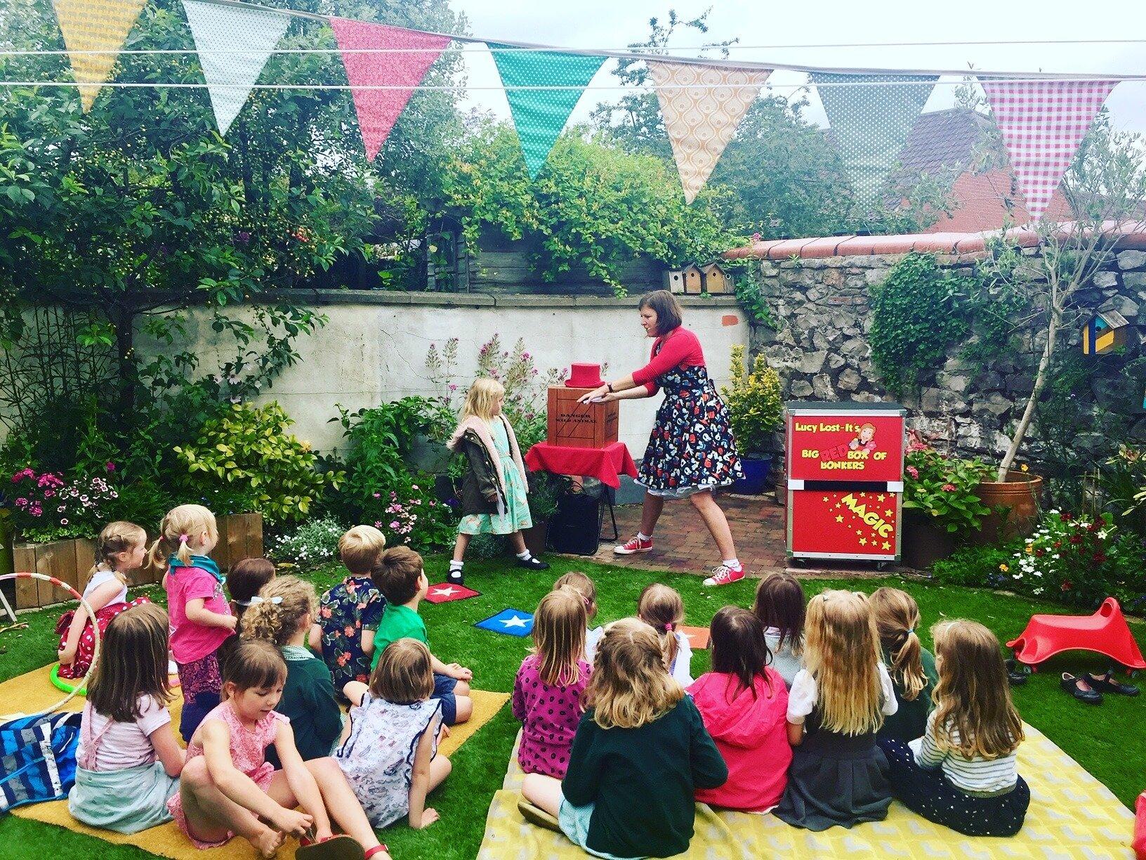 Entertaining Children in UK