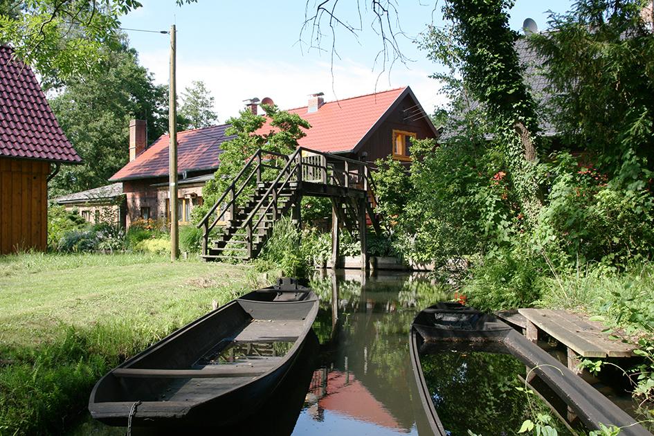 Bildergalerie Ferienwohnungen Bootshaus Kaupen Paddelboote Ferienwohnungen In Lubbenau Im Spreewald