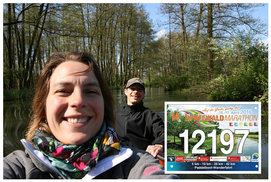 Marathon-Paddeln - Seit mehreren Jahren paddeln wir selbst an einem Tag die 42-km-Strecke und erkämpfen uns dabei die