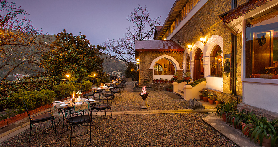 Location : The Naini Retreat Nainital, Leisure Hotels.