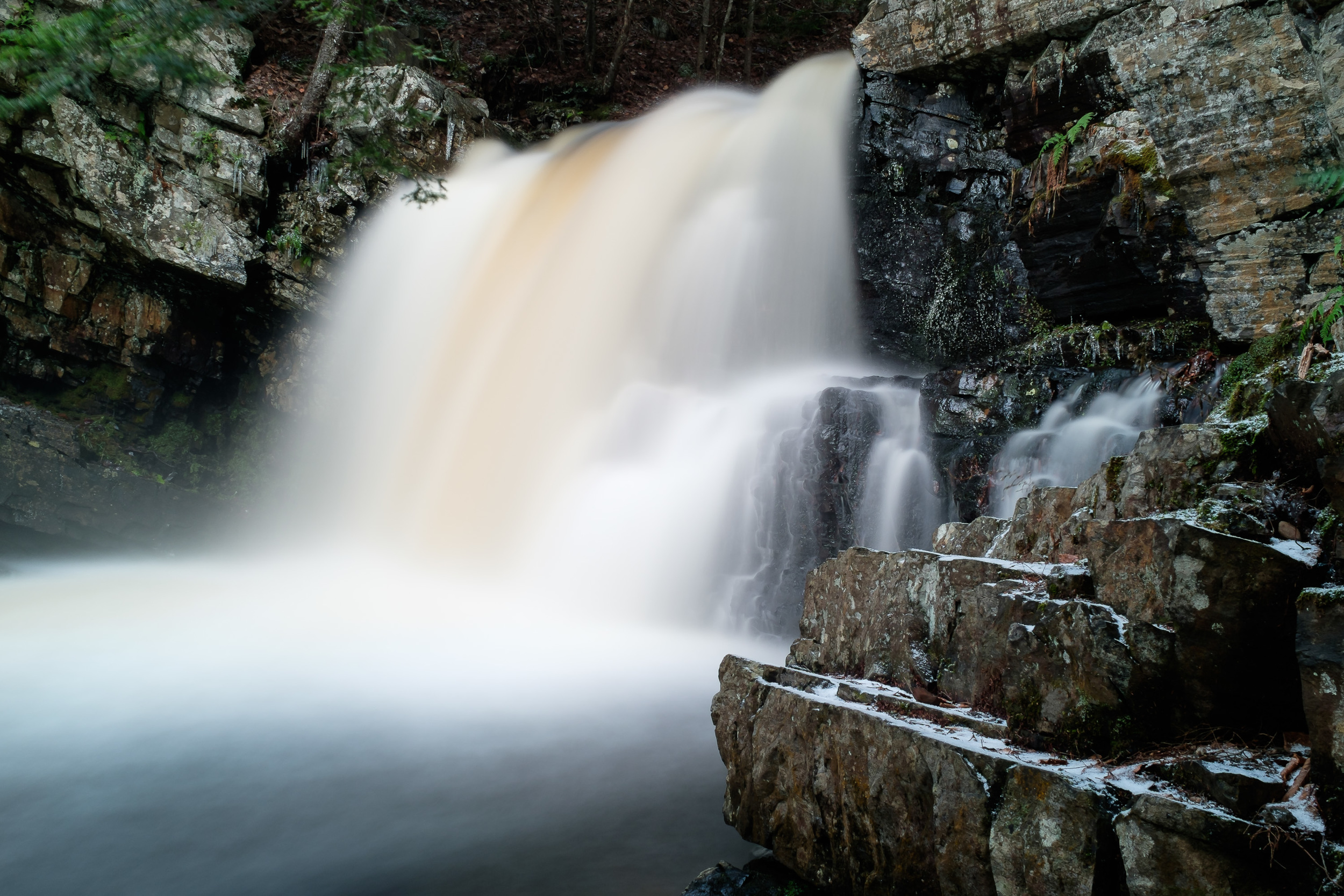 Ettinger Falls - an X100T photo with in-camera adjustments.
