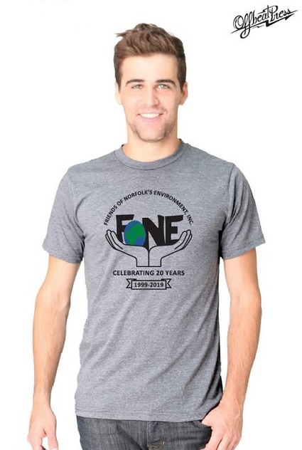 FONE T-SHIRT: $25.00   50% organic cotton, 50% RPET (made from plastic bottles) fabric is organic, environmentally friendly and extremely soft.