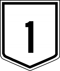 A National Route Shield