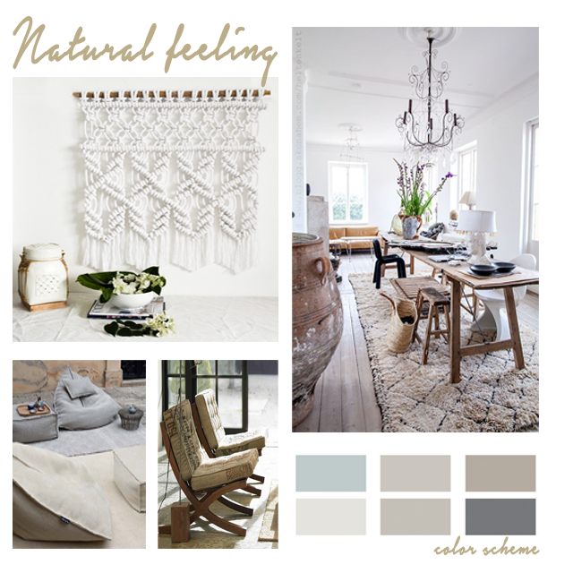 When we play with Natural elements we always bring an atmosphere of serenity to our space.