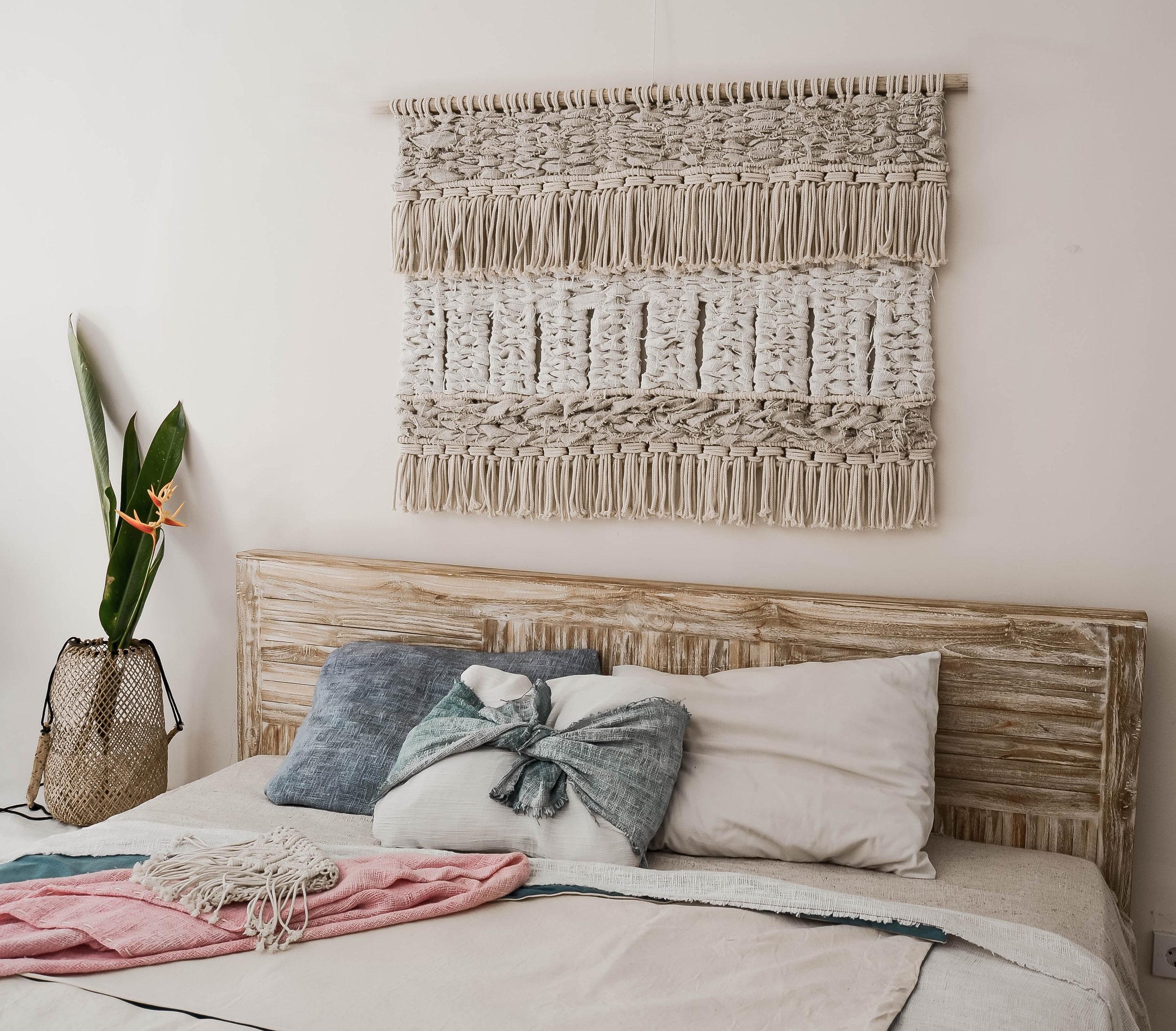 Contemporary Macrame Wallart by Belen senra Ranran Design