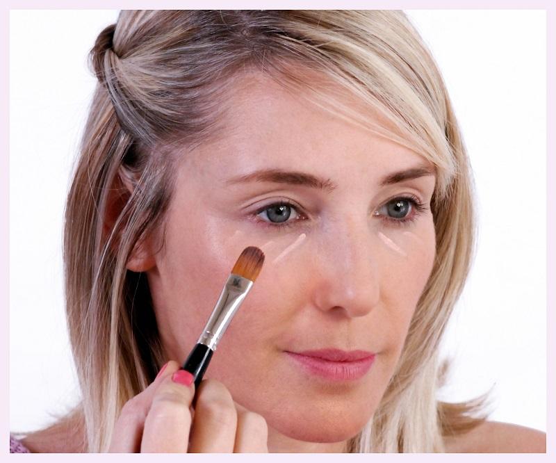 spring eye makeup step one