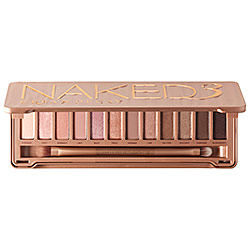 urban decay naked3 eyeshadow palatte