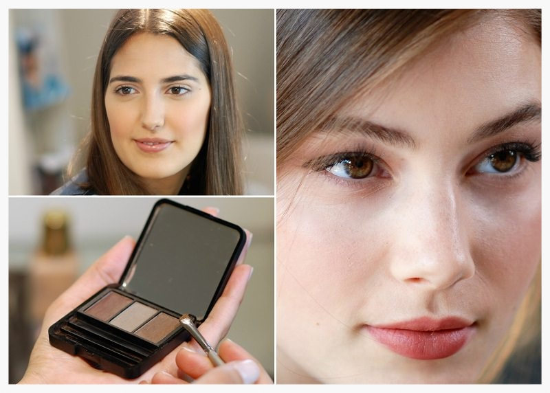 brown eyes collage