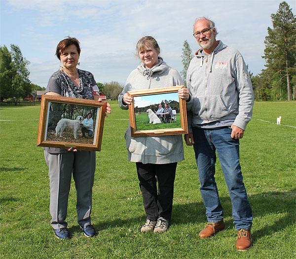 Silvana, Ery & Weine receive the award. Photo: SvKK.