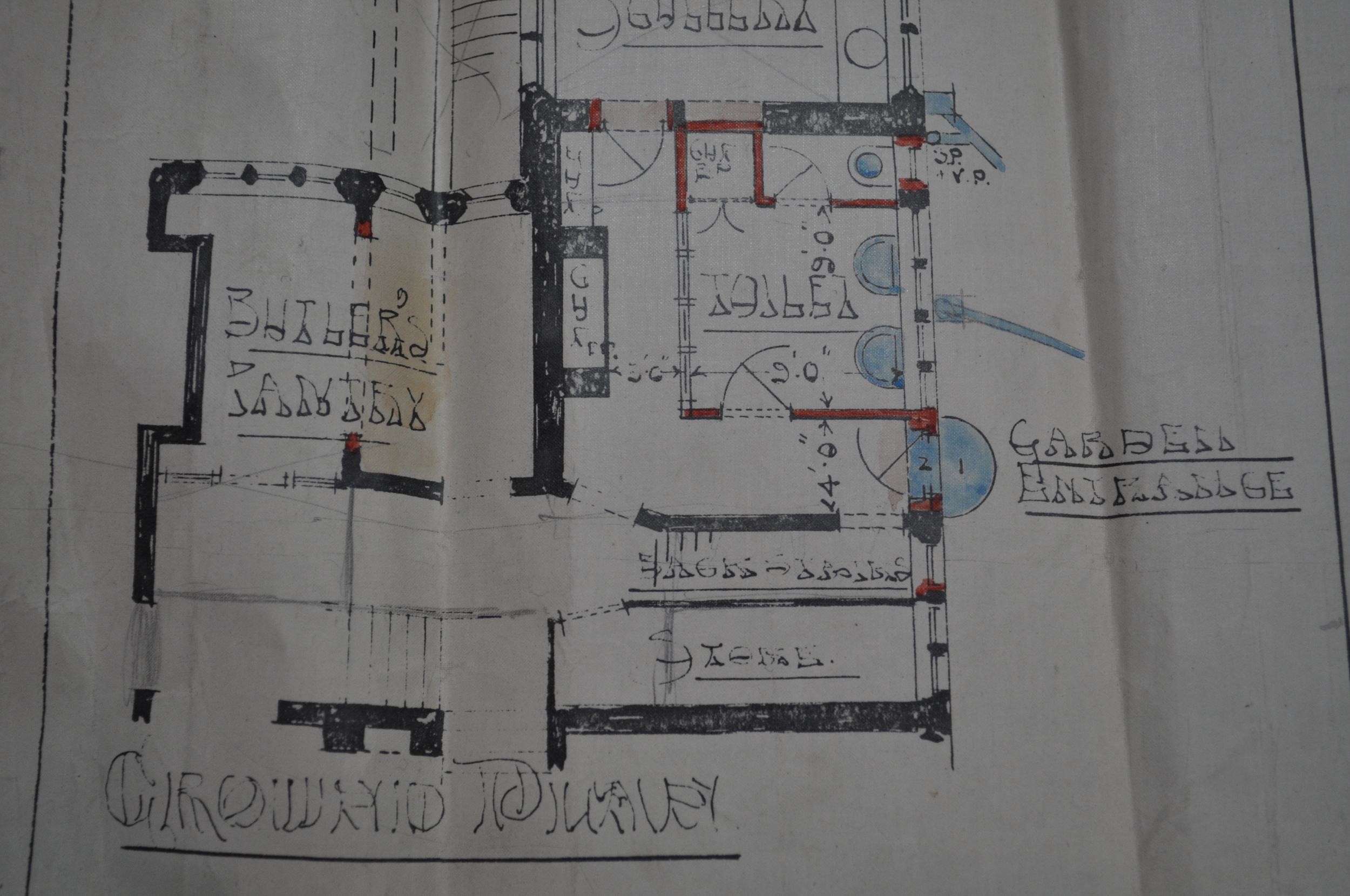 #10604, Lindley Building Plans, West Yorkshire Archives Service, Kirklees. Reproduced with permission.