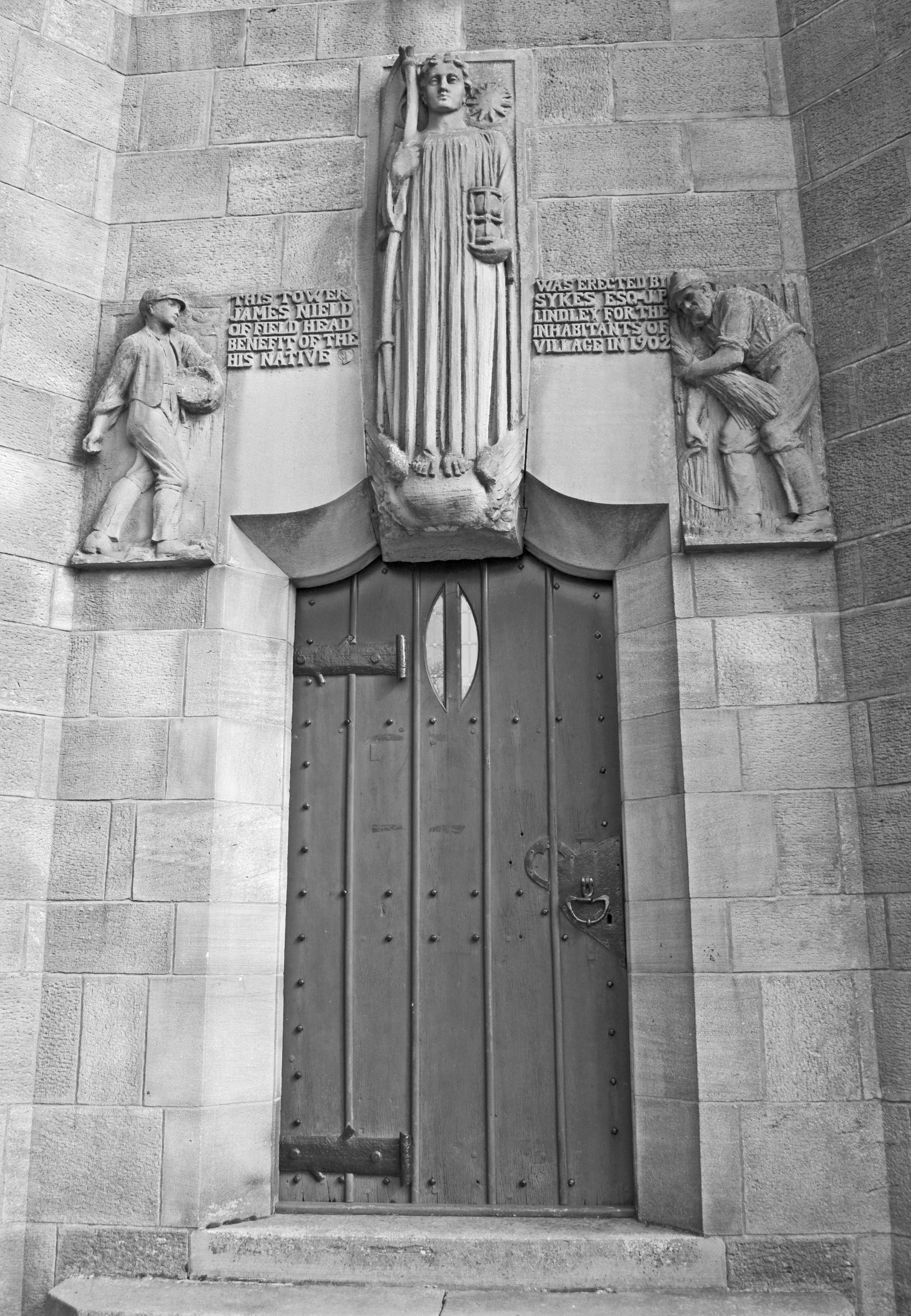 A Classic Arts and Crafts Door