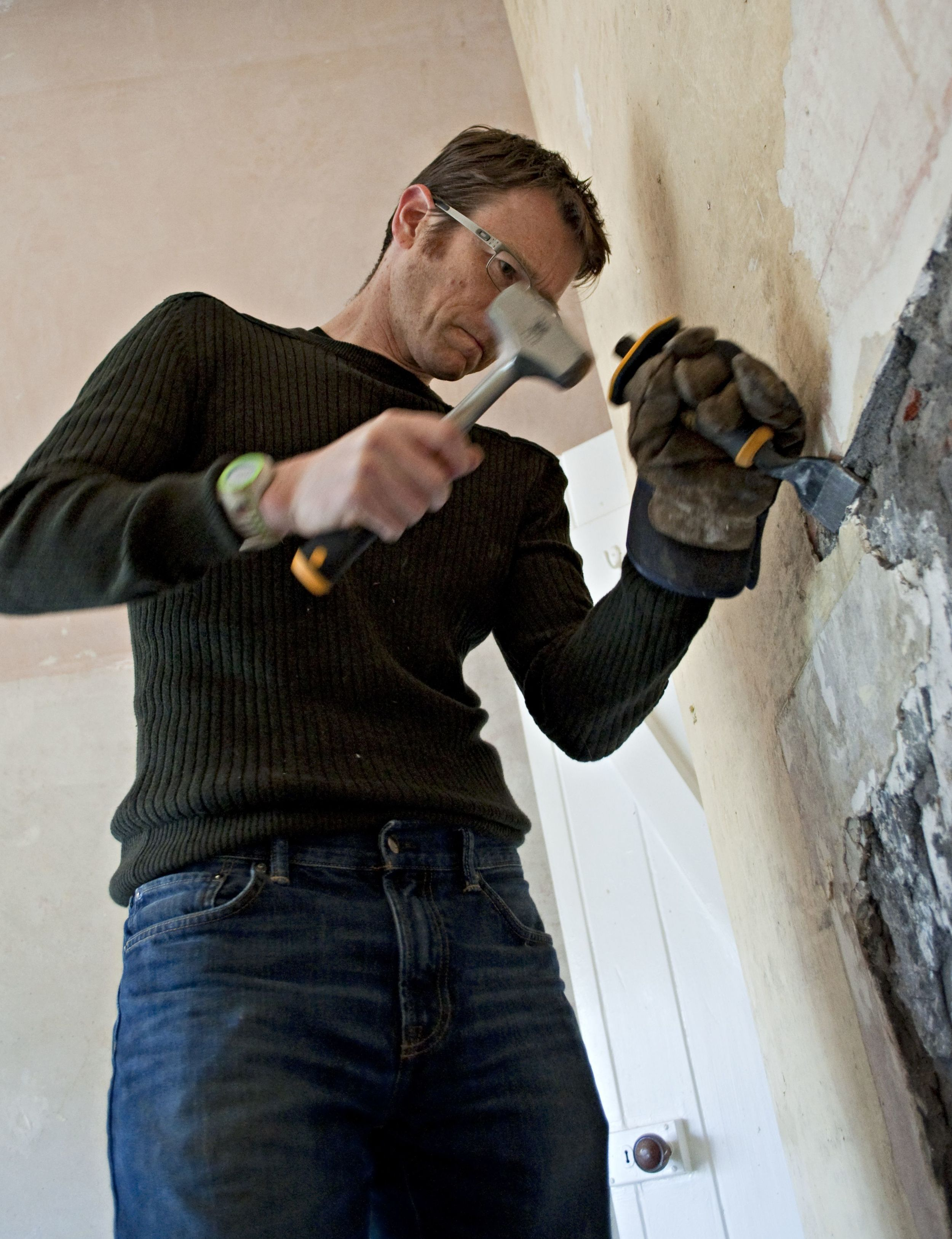 Getting serious with the lump hammer