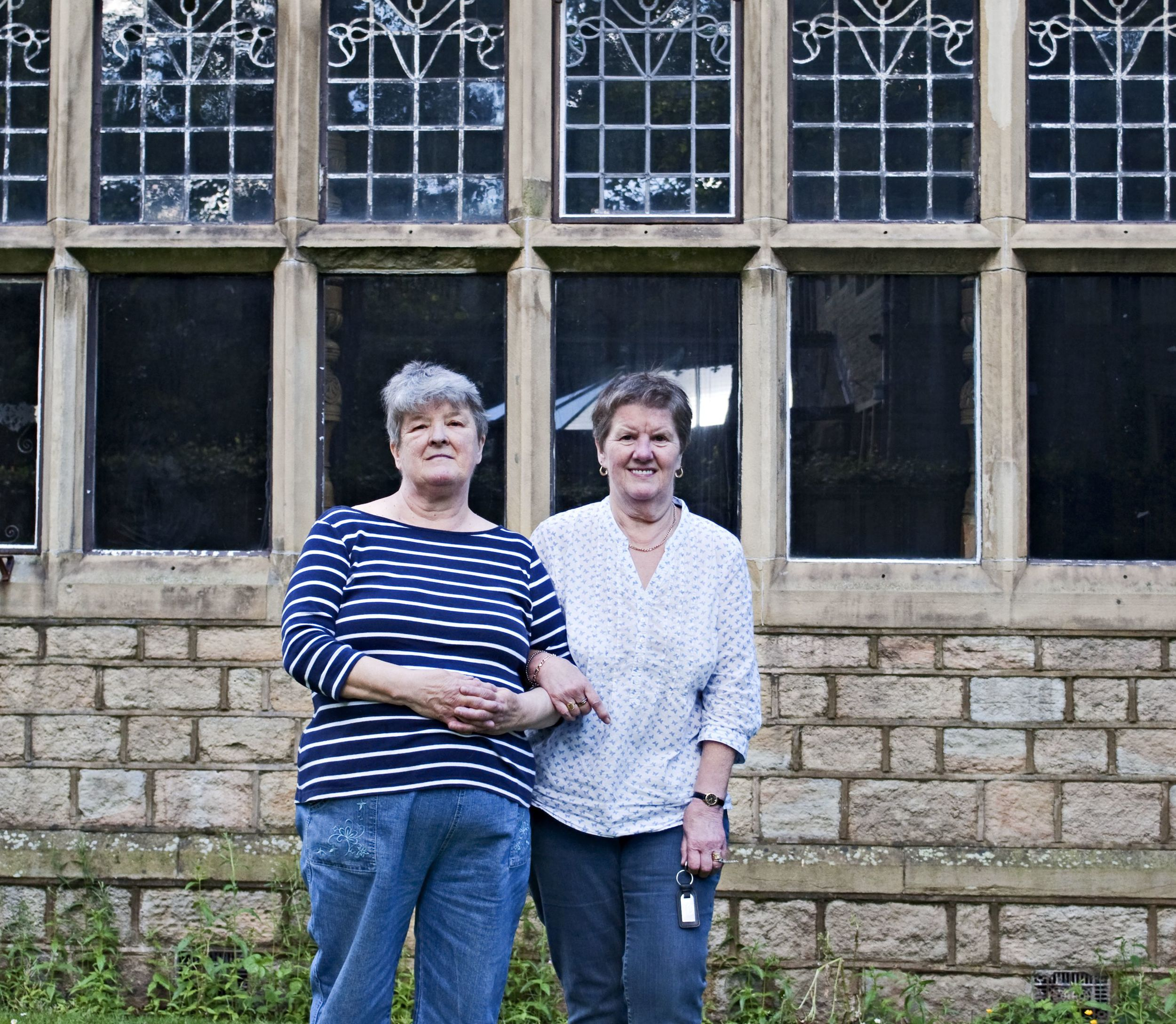 62 years on - Dorelle and Eileen return to Briarcourt