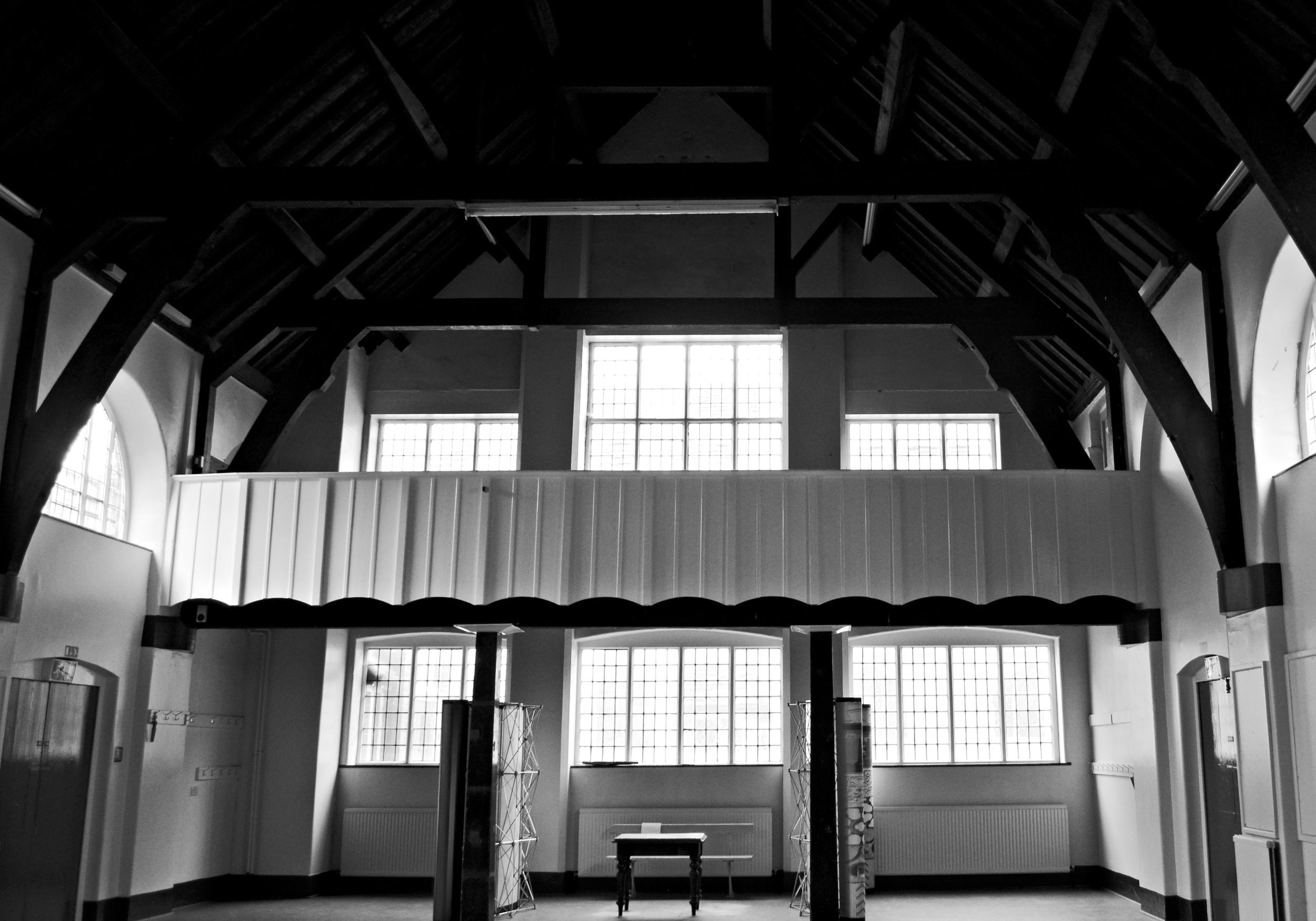 The main hall in the Sunday school