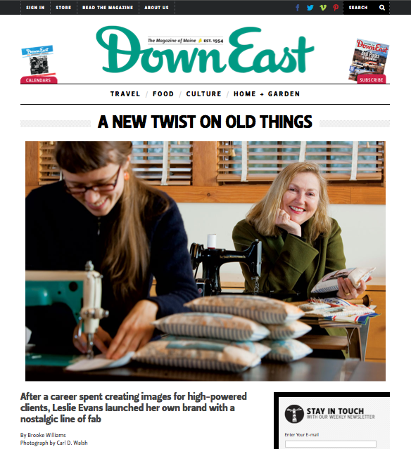 DOWNEAST MAGAZINE, May 2013 Article by Brooke Williams, Photos by Carl D. Walsh